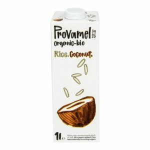 Provamel Nápoj ryžovo-kokosový BIO 1l - ryžové mlieko - ryžový nápoj - rastlinné mlieko - rastlinný nápoj - rastlinne mlieko - ryzove mlieko - ryzovy napoj - ryžové mlieko recept - ryzove mlieko vyroba - rastlinne mlieko recept - ryžové mlieko účinky - alpro ryzove mlieko - joya ryzove mlieko