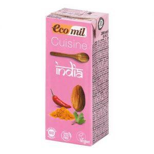 Ecomil Mandľová alternatíva smotany India BIO 200 ml - mandlove mlieko - mandľové mlieko - alpro mandlove mlieko - mandlové mlieko - mandlove mlieko cena - mandlove mlieko pouzitie - mandlove mlieko alpro - mandlove mlieko recenzie