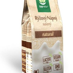 Topnatur Nápoj ryžový instantný natural 350 g - ryžové mlieko - ryžový nápoj - rastlinné mlieko - rastlinný nápoj - rastlinne mlieko - ryzove mlieko - ryzovy napoj - ryžové mlieko recept - ryzove mlieko vyroba - rastlinne mlieko recept - ryžové mlieko účinky - alpro ryzove mlieko - joya ryzove mlieko