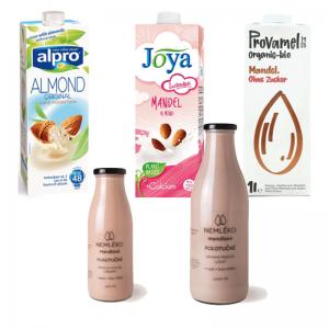 Mandľové mlieko - mandľový nápoj