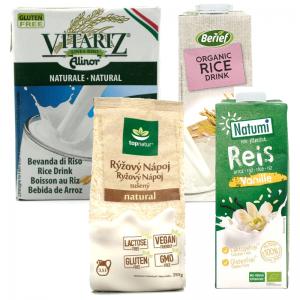 Ryžové mlieko - ryžový nápoj