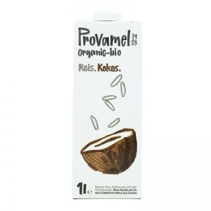 Ryžovo-kokosový nápoj bio 1l Provamel - ryžové mlieko - ryžový nápoj - rastlinné mlieko - rastlinný nápoj - rastlinne mlieko - ryzove mlieko - ryzovy napoj - ryžové mlieko recept - ryzove mlieko vyroba - rastlinne mlieko recept - ryžové mlieko účinky - alpro ryzove mlieko - joya ryzove mlieko